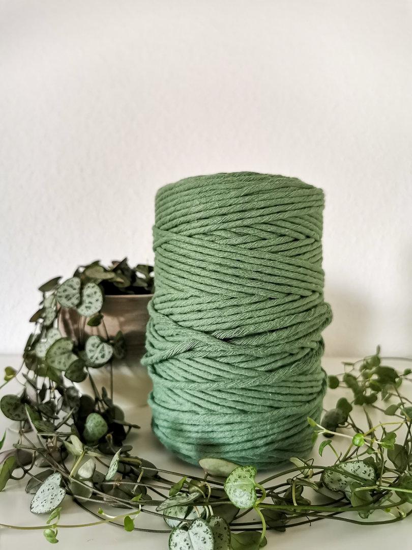 Makrameegarn 100 Meter MANGO - GEZWIRNT! 4 mm - Häkel-Web